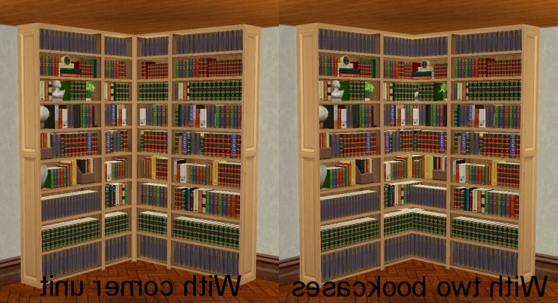 Preferred Corner Unit Bookcases Throughout Mod The Sims – Corner Unit For Dahlen Bookcase (View 12 of 20)