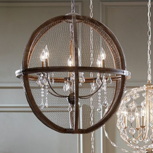 Preferred Filipe Globe Chandeliers Intended For Filipe Globe Chandelier (View 24 of 30)