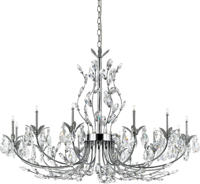 Preferred Giselle 12 Light Chandelier, Clear For Gisselle 4 Light Drum Chandeliers (View 26 of 30)