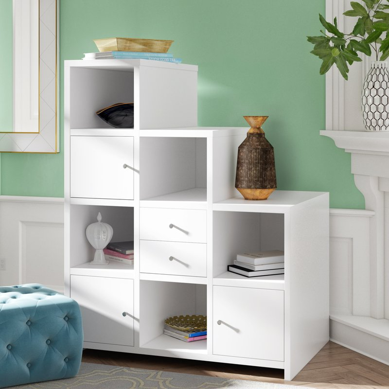 Preferred Karlie Cube Unit Bookcase In Karlie Cube Unit Bookcases (View 2 of 20)