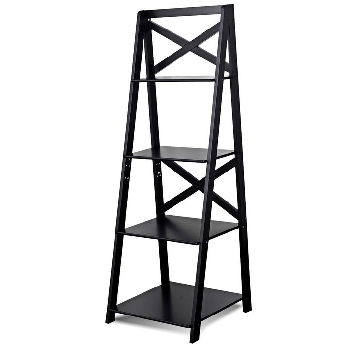 Preferred Riddleville Ladder Bookcases With Christner Storage Ladder Bookcase (View 10 of 20)