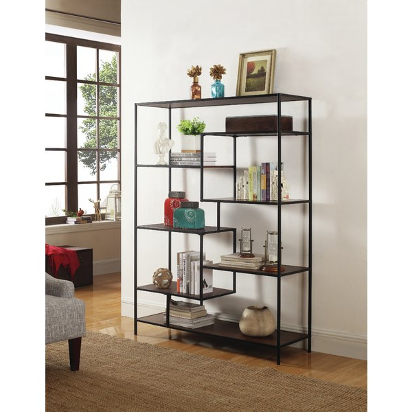 Preferred Rocklin Etagere Bookcases Throughout Discount Macon Etagere Bookcasegreyleigh Best Pricesetagere (View 15 of 20)