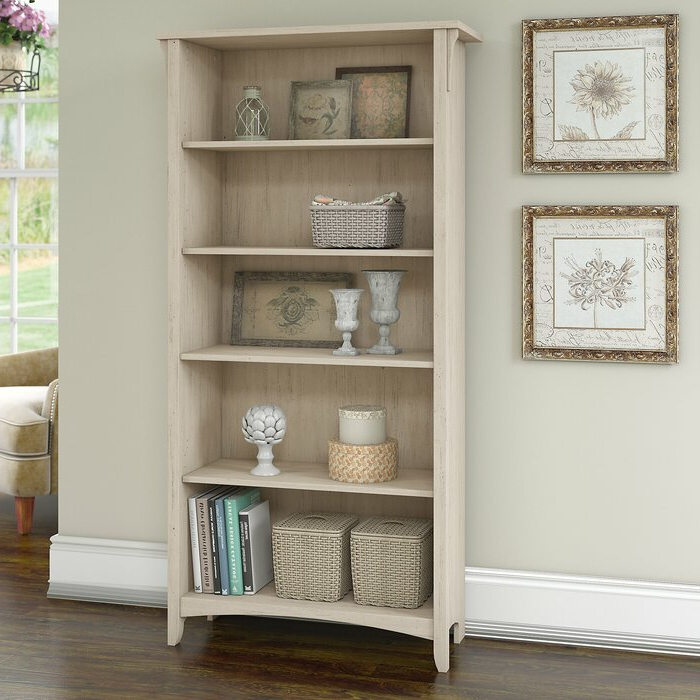 Preferred Salina Standard Bookcase With Regard To Myrasol Standard Bookcases (View 15 of 20)