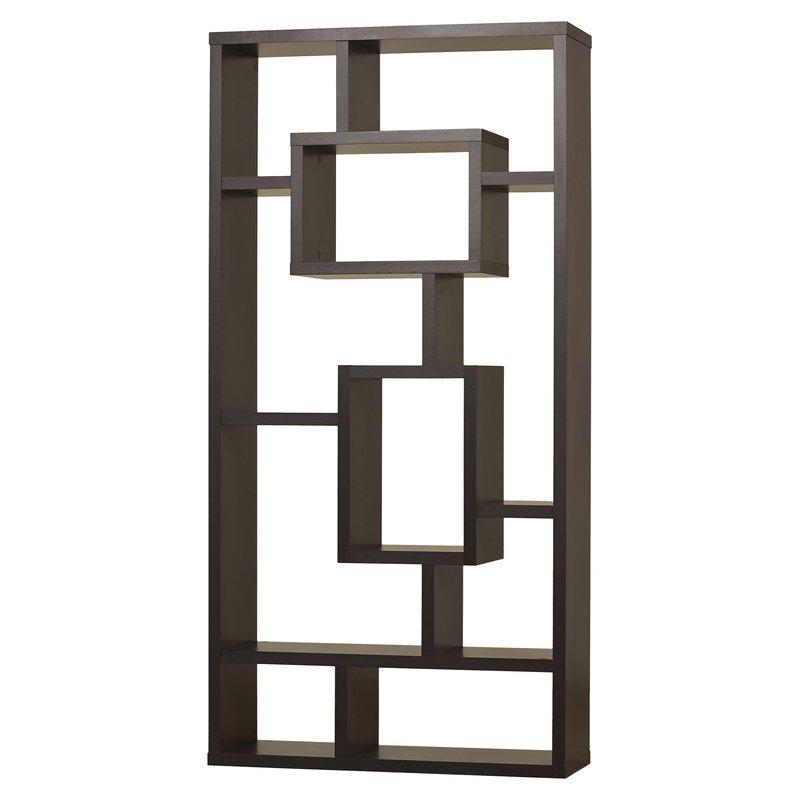 Preferred Vaccaro Geometric Bookcases Regarding Vaccaro Geometric Bookcase (View 10 of 20)