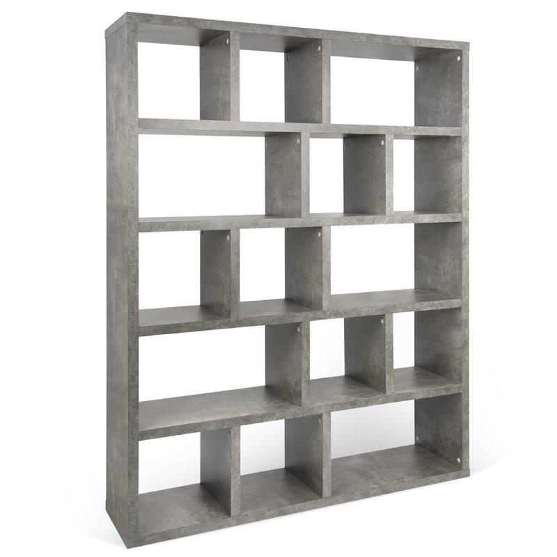 Preferred Varga 5 Levels Standard Bookcase Regarding Varga 5 Level Geometric Bookcases (View 16 of 20)