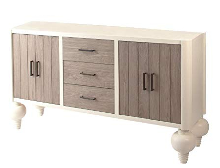 Preferred Vical Home – Lola Sideboard/storage White Wood Baroque Intended For Lola Sideboards (View 9 of 20)