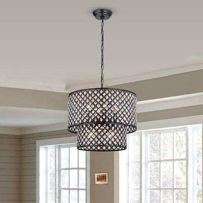 Preferred Von 4 Light Crystal Chandeliers With Von 4 Light Crystal Chandelier In (View 9 of 30)