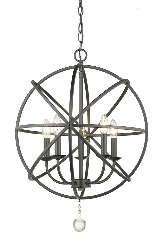 Products In 2019 Pertaining To Fashionable Waldron 5 Light Globe Chandeliers (View 21 of 30)