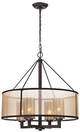 Products Pertaining To Preferred Dailey 4 Light Drum Chandeliers (View 25 of 30)
