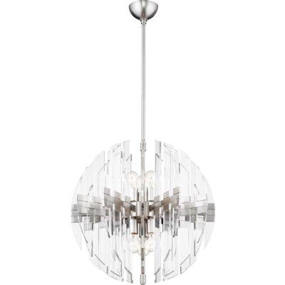 Products Regarding Verlene Foyer 5 Light Globe Chandeliers (View 9 of 30)