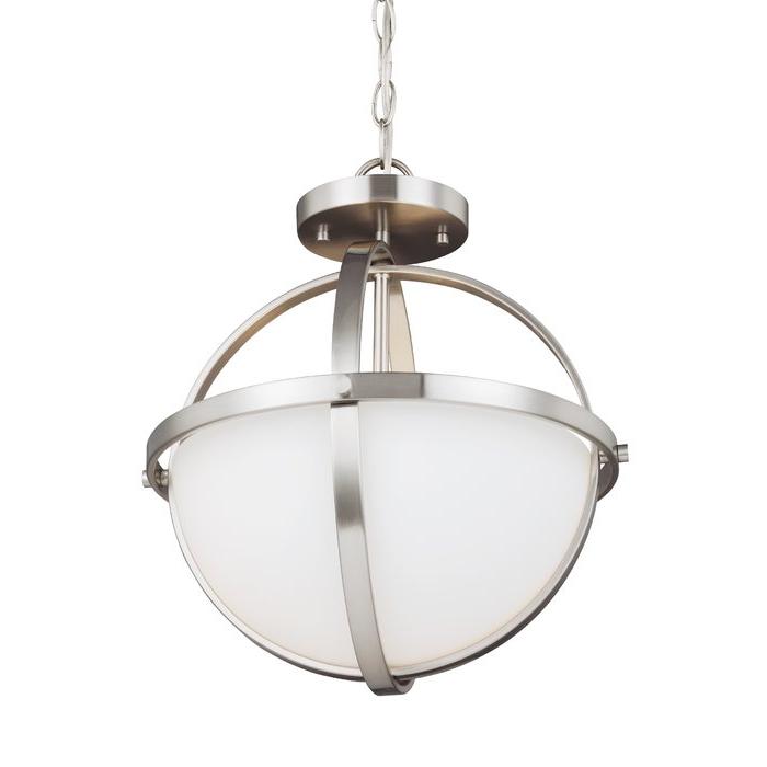 Raine 2 Light Globe Chandelier Pertaining To 2020 Hendry 4 Light Globe Chandeliers (Gallery 26 of 30)