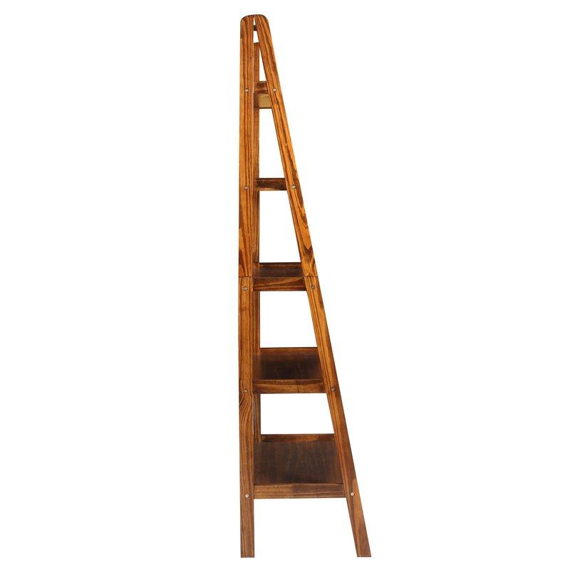 Ranie Ladder Bookcase Regarding Popular Ranie Ladder Bookcases (Gallery 17 of 20)