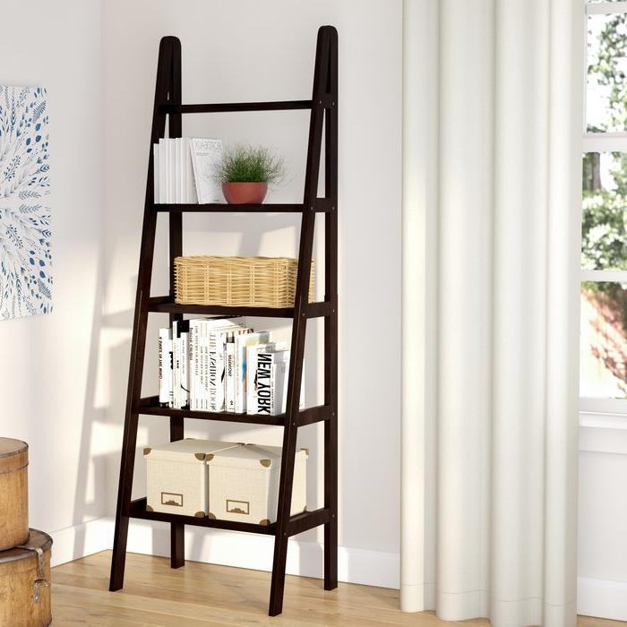 Ranie Ladder Bookcase Within 2019 Ricardo Ladder Bookcases (View 11 of 20)