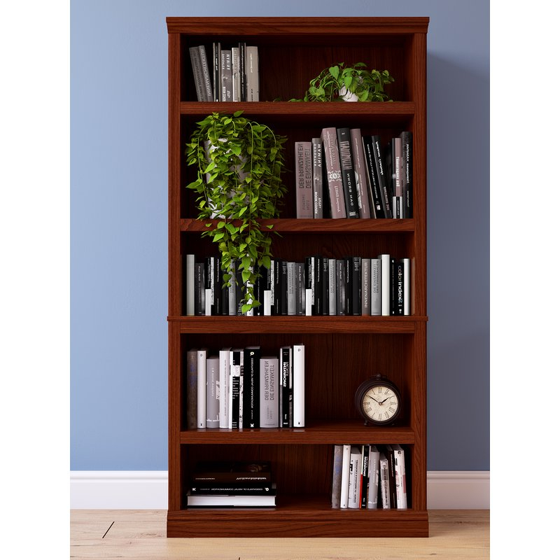 Recent Abigail Standard Bookcases Pertaining To Abigail Standard Bookcase (View 16 of 20)