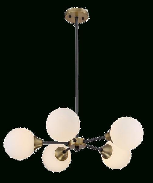 Recent Bautista 5 Light Sputnik Chandeliers Throughout Bautista 5 Light Sputnik Chandelier (Gallery 2 of 30)