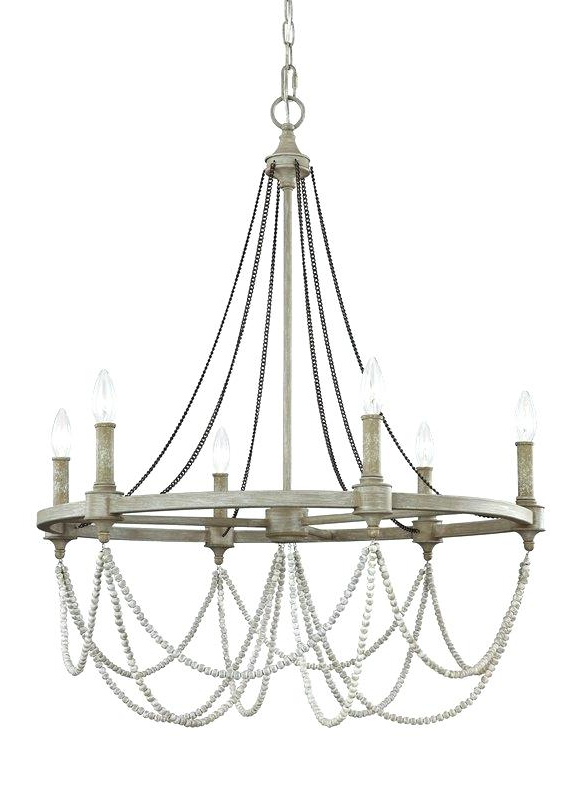 Recent Candle Style Chandelier In Bennington 6 Light Candle Style Chandeliers (View 24 of 30)
