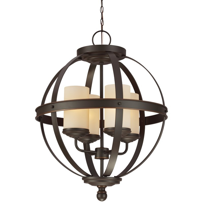 Recent Donna 4 Light Globe Chandelier With Regard To Donna 4 Light Globe Chandeliers (View 26 of 30)