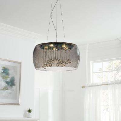 Recent Drum – Pendant Lights – Lighting – The Home Depot For Harlan 5 Light Drum Chandeliers (Gallery 22 of 30)