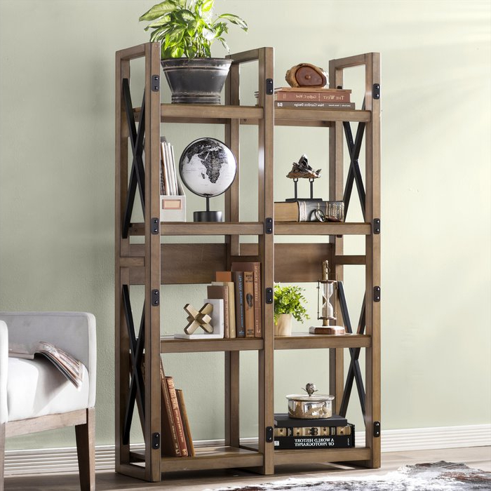 Recent Gladstone Etagere Bookcase For Ebba Etagere Bookcases (Gallery 15 of 20)