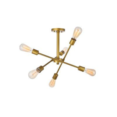 Recent Johanne 6 Light Sputnik Chandeliers In Pinterest – Пинтерест (View 21 of 30)
