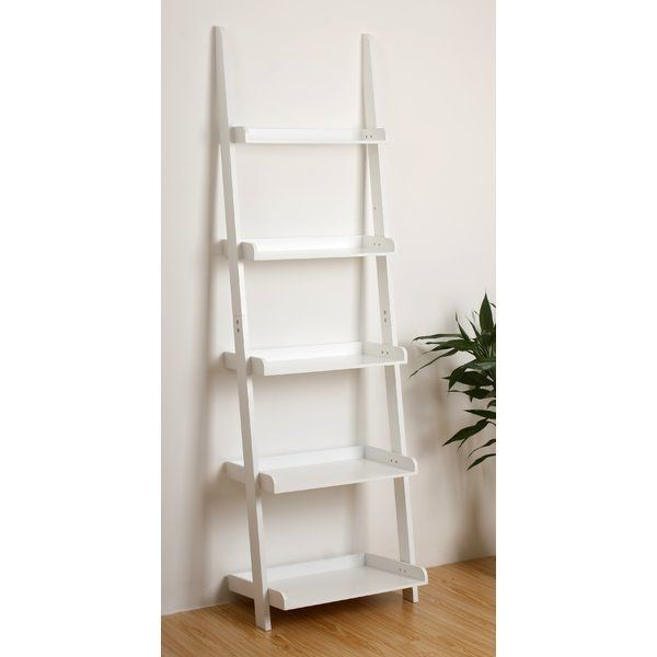 Recent Leaning Bookcase Zipcode Design Ricardo Ladder Bookcase Regarding Ricardo Ladder Bookcases (View 12 of 20)