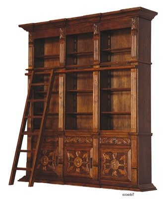 Recent Marilee Library Bookcases Pertaining To Library Bookcase 122, Luxury High End Furniture Made Of (View 16 of 20)