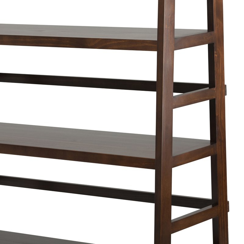 Recent Mayna Ladder Bookcase With Regard To Mayna Ladder Bookcases (View 17 of 20)