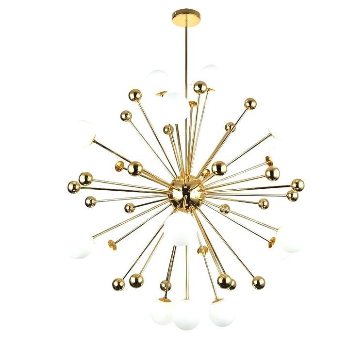 Recent Sputnik 18 Light Chandelier Pertaining To Defreitas 18 Light Sputnik Chandeliers (Gallery 20 of 30)
