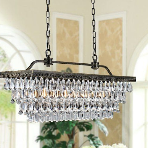 Recent Whitten 4 Light Crystal Chandelier (View 3 of 30)