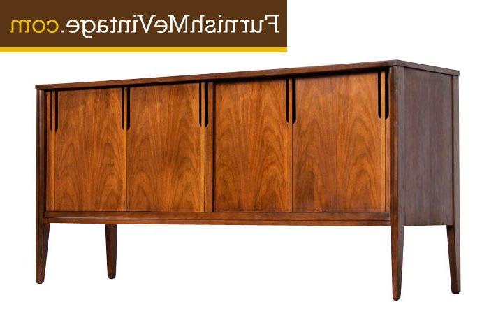 Restored Mid Century Modern Deilcraft Credenza (Gallery 12 of 20)