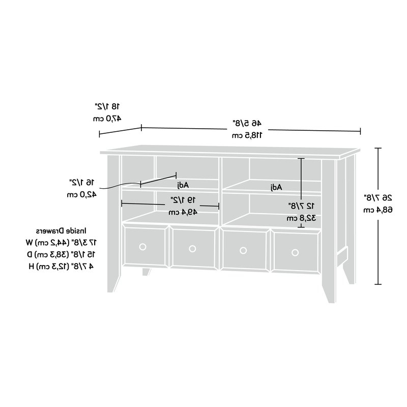 "Revere Tv Stand For Tvs Up To 42"" Pertaining To Most Up To Date Ericka Tv Stands For Tvs Up To 42"" (View 17 of 20)"