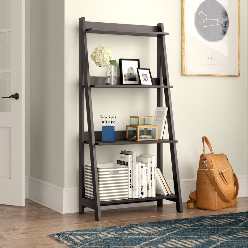 Riddleville Ladder Bookcases With Regard To Popular Riddleville Ladder Bookcase (View 18 of 20)