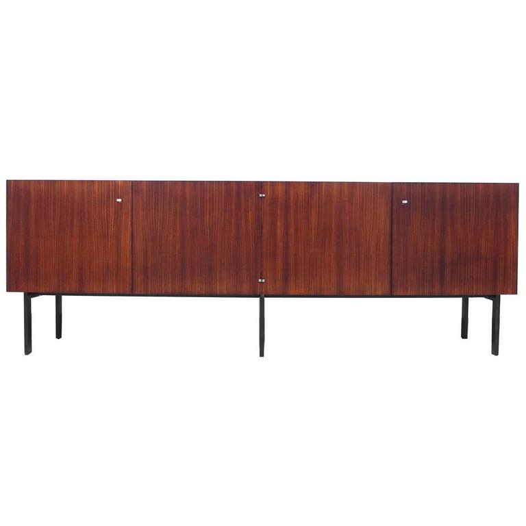 Rosewood Sideboard Attributed To Etienne Fermigier For Meubles Et Fonction,  1961 Regarding Popular Etienne Sideboards (View 16 of 20)