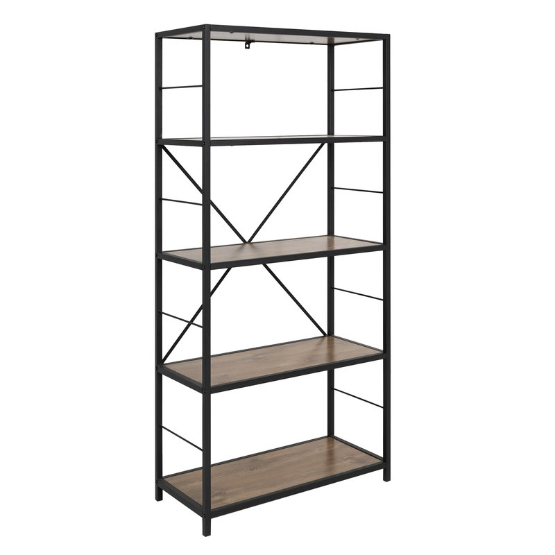 Rossman Etagere Bookcases Pertaining To Fashionable Macon Etagere Bookcase (View 7 of 20)