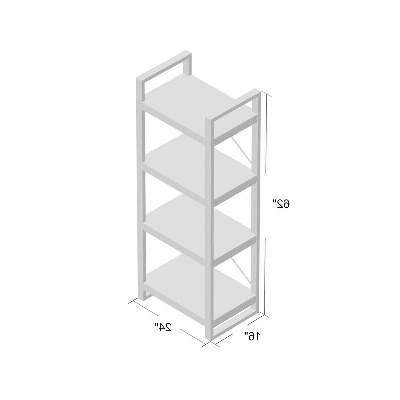 Rossman Etagere Bookcases Pertaining To Trendy Rossman Etagere Bookcase (View 6 of 20)