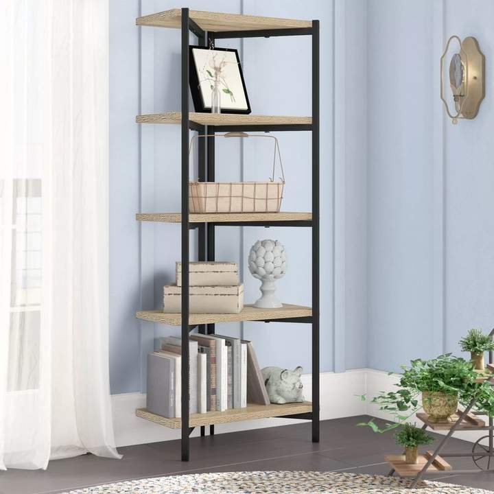 Rossman Etagere Bookcases Regarding Well Known Laurel Foundry Modern Farmhouse Bronson Etagere Bookcase (View 11 of 20)