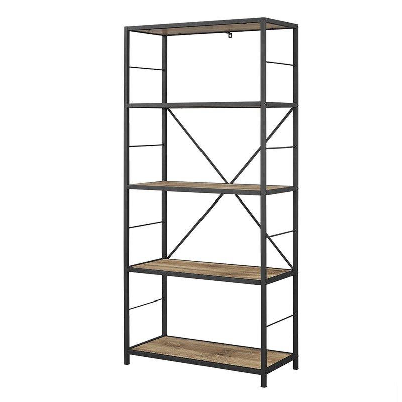 Rossman Etagere Bookcases Within Famous Macon Etagere Bookcase (Gallery 17 of 20)