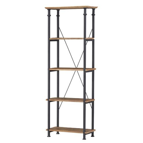Rustic Bookcase Regarding Most Popular Zona Etagere Cube Bookcases (View 4 of 20)