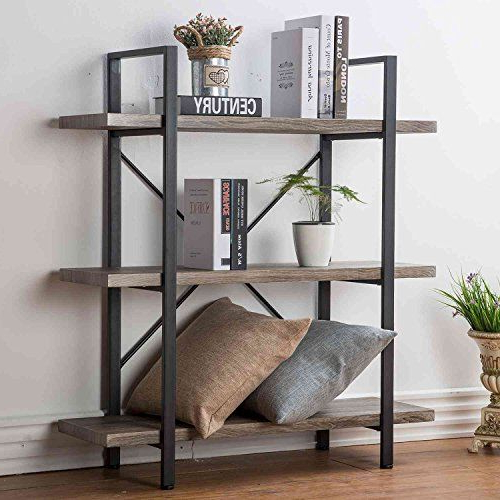 Rustic Bookshelf With Regard To Well Liked Whidden Etagere Bookcases (View 11 of 20)
