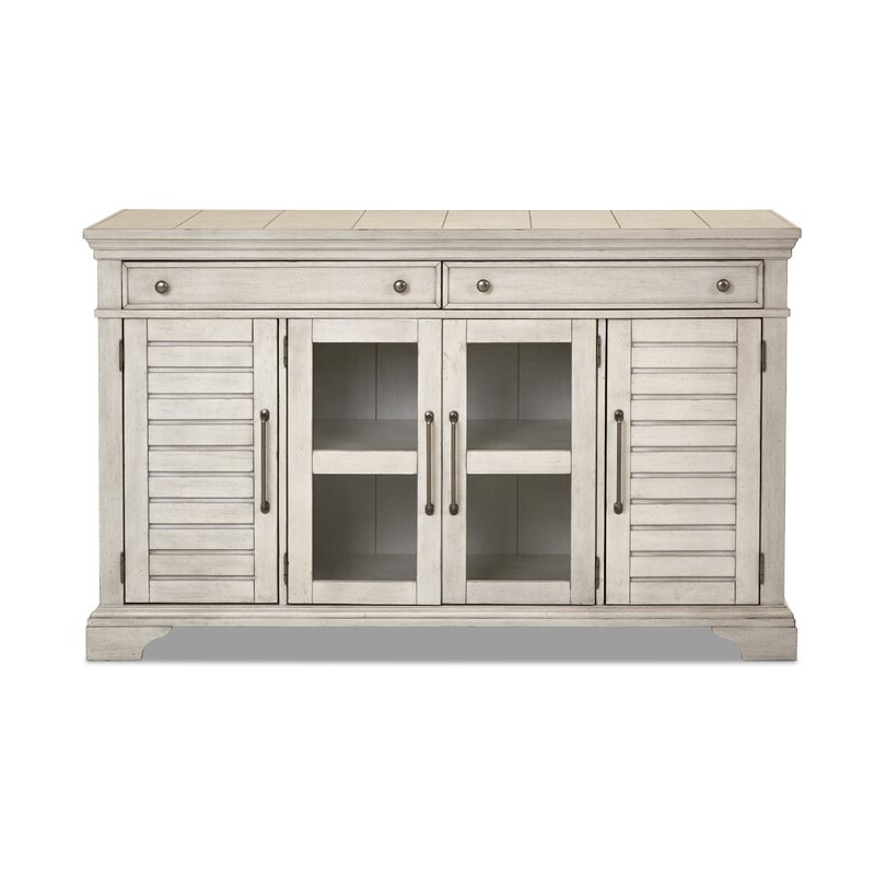 Saguenay Sideboards Regarding Best And Newest Trisha Yearwood Home Key West Sideboard (View 11 of 20)