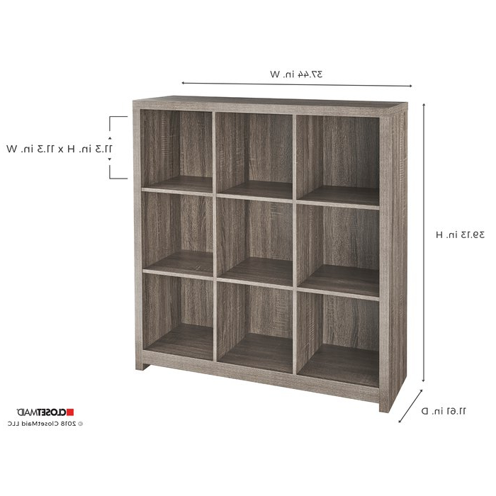 Salina Cube Bookcases Intended For Well Liked Premium Storage Cube Bookcase (View 14 of 20)