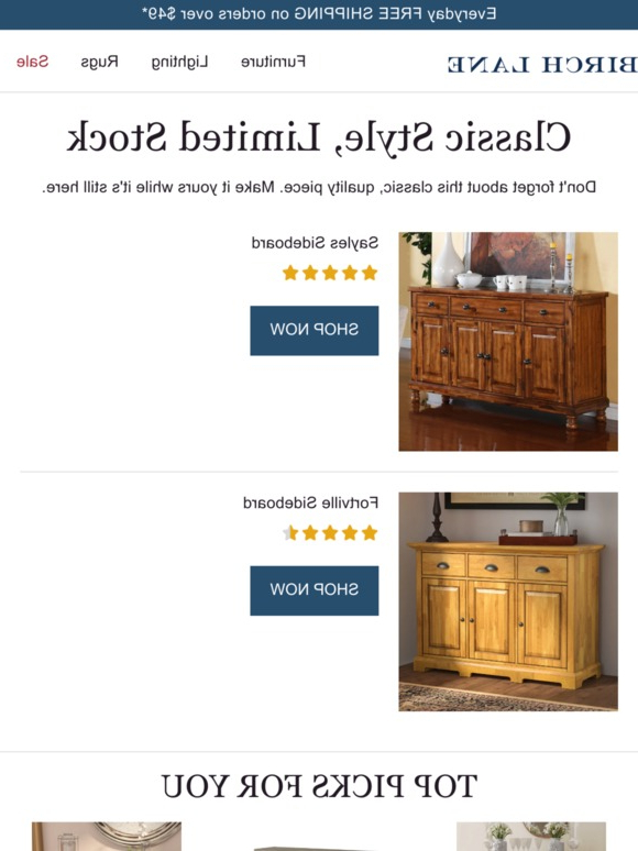 Sayles Sideboards With Regard To Favorite Birch Lane: 🚩 Notice: Your Items Are Waiting! 🚩 (View 15 of 20)