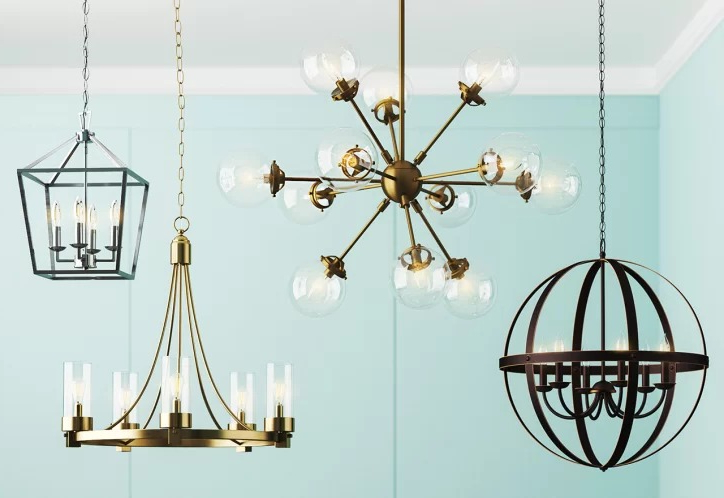 Semi Annual Lighting Sale! Save On Chandeliers & More! – The Pertaining To Preferred Newent 5 Light Shaded Chandeliers (View 17 of 30)