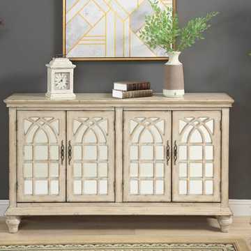 Serafino Media Credenzas With Famous Shop Dining Furniture (View 14 of 20)