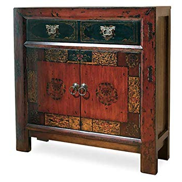 Seven Seas Asian Sideboards Pertaining To Well Known Hooker Furniture 500 50 645 Asian Two Door/one Drawer Hall Chest, Rich  Gesso Finish With Subtle Gold Highlights (View 15 of 20)