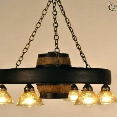 Shayla 12 Light Wagon Wheel Chandeliers Within Favorite Small Wagon Wheel Chandelier – Hildegardejalbert (View 22 of 30)