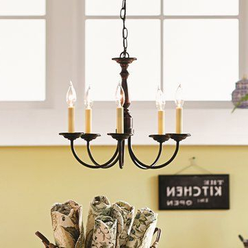 Shaylee 5 Light Candle Style Chandeliers Within Famous Francesville 5 Light Candle Style Chandelier (View 20 of 30)
