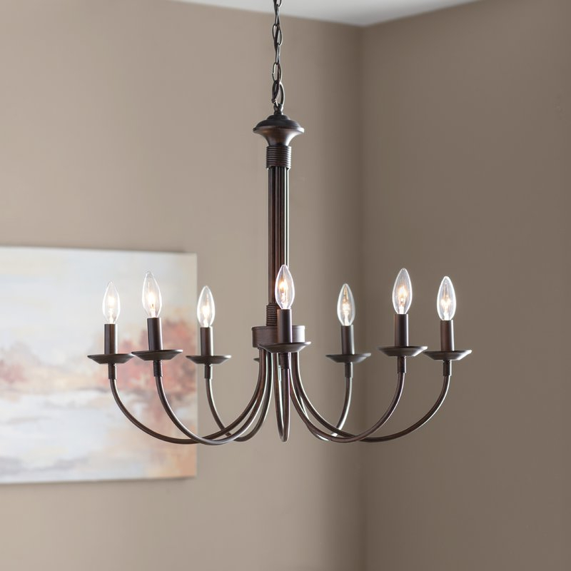 Shaylee 6 Light Candle Style Chandeliers Pertaining To Well Known Shaylee 8 Light Candle Style Chandelier (View 4 of 30)