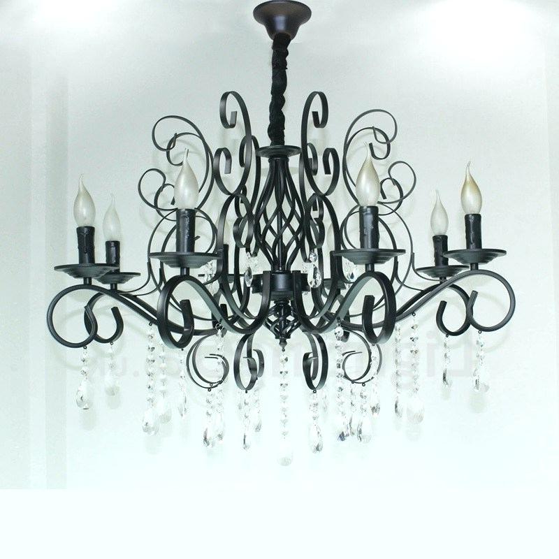 Shaylee 8 Light Candle Style Chandeliers For Best And Newest Black Candle Chandelier – Viralthings (View 19 of 30)