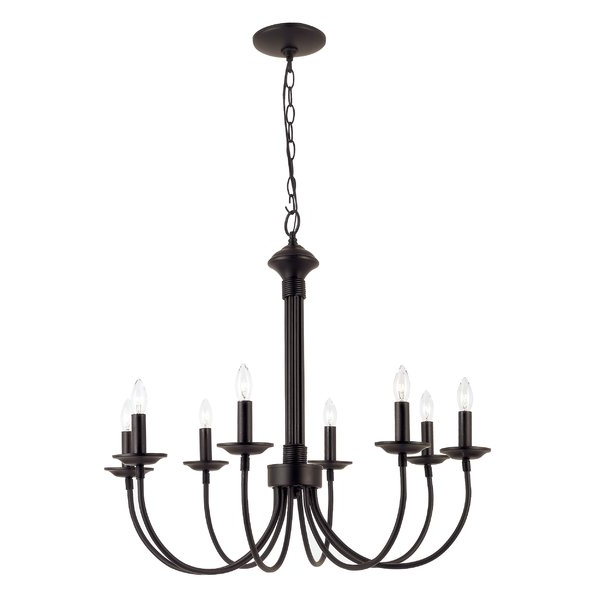 Shaylee 8 Light Candle Style Chandeliers Regarding Preferred Shaylee 8 Light Candle Style Chandelier (View 3 of 30)